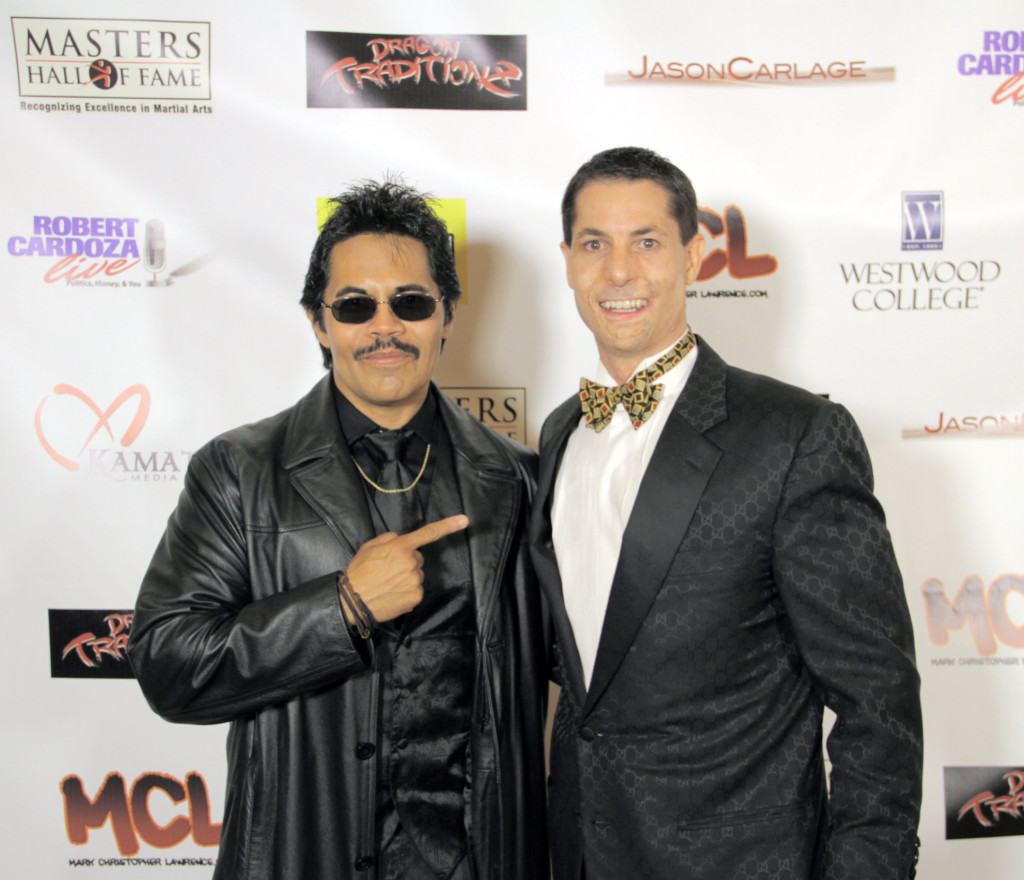 Jamie Cashion and Art Camacho on the Red Carpet